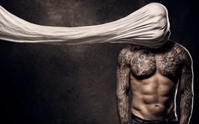 Picture background, people, tattoo