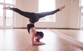 Picture female, fitness, yoga