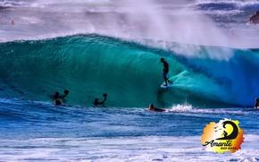 Picture logo, Beach, surf