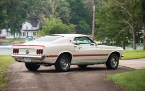 Picture 1969, Ford Mustang, Classic, Muscle car, 428 Cobra Jet, Mach I