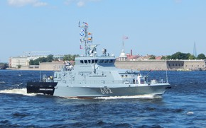 Picture boat, anti-sabotage, Юнармеец Дагестана