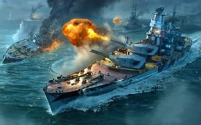 Picture USSR, Heavy cruiser, Крейсер проекта 69 Кронштадт