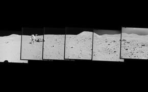 Picture Apollo 15, USA, The moon, Apollo 15, 1971