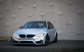 Picture BMW, Silver, F80, Sight, Adaptive LED