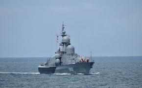 Picture boat, rocket, The black sea, Shuya