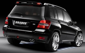 Picture Tuning, SUV, Brabus Widestar, Compact crossover, Mercedes-Benz GLK-class