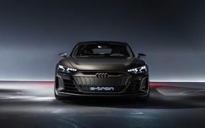 Picture Concept, Audi, front view, 2018, e-tron GT Concept, E-Tron GT