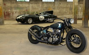 Picture Bike, Vehicle, Bobber