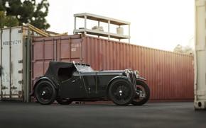 Picture Car, Vintage, Retro, MG L-Type