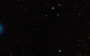 Picture Stars, LMC, DSS2, MUSE, LHA 120-N 180B, Constellation Mensa, Starclusters, Surroundings part 3