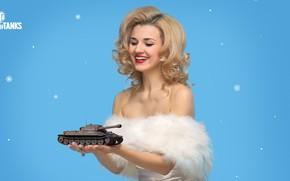 Picture New year, Karina, World of Tanks