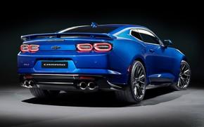 Picture Chevrolet, Camaro, rear view, ZL1, 2019