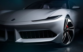 Picture Bumper, 2020, Electric Car, Karma Pininfarina GT