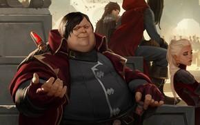 Picture girl, people, fat, Legends of Runeterra