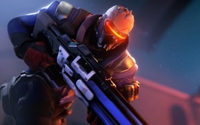 Picture rendering, mask, soldiers, machine, overwatch, soldier 76, jack morrison