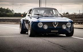 Picture coupe, Alfa Romeo, Giulia, 2020, Totem Automobili, GT electric, рестомодкар