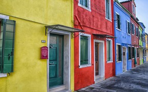Picture paint, home, Venice, Burano