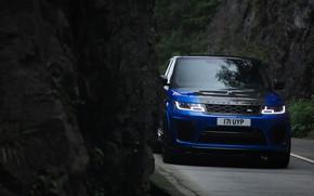Picture rock, Land Rover, Range Rover, Range Rover Sport, 2018, SVR, V8, 575 HP, 5.0 L., …
