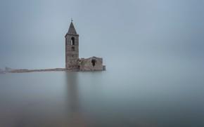 Picture fog, Catalonia, Osona, Vilanoba de Ter