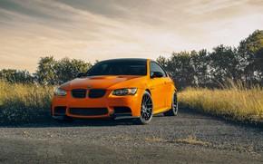 Picture nature, design, style, color, BMW, car, the front, E92 M3