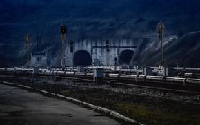 Picture Dnepropetrovsk, urban dnepr, the Dnipropetrovsk metro tunnel, Dnipro metro, tunnels Dnipropetrovsk metro, subway tunnel, the …