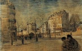 Picture Drawings, Vincent van Gogh, The Boulevard de Clichy