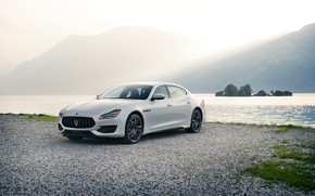 Picture auto, white, Maserati, Quattroporte, metallic, GTS, 2019, GranSport