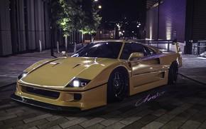 Picture Auto, Machine, Ferrari, F40, Rendering, Ferrari F 40, Ferrari F-40, F-40, Christer Stormark, by Christer …