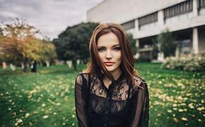 Picture look, girl, hair, red, Alexander Tsarev