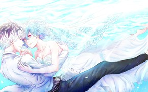 Picture girl, romance, pair, guy, Tokyo Ghoul, Tokyo Ghoul