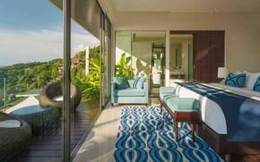 Picture room, interior, bedroom, Guest-Villa-Samira