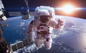 Picture The sun, Station, Earth, Astronaut, Astronaut, Satellite, Planet, Station, Sun, Orbit, System, Satellite, Orbit, Astronaut, …