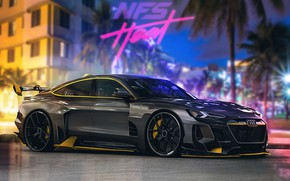 Picture Audi, Auto, Machine, Car, NFS, Art, Need for Speed, Render, Heat, Game Art, Transport & …