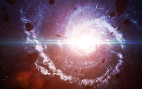 Picture Big Bang, energy, rendering