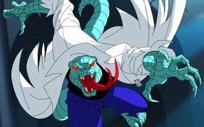 Picture lizard, lizard, Spider-Man The Animated Series, Kurt Connors