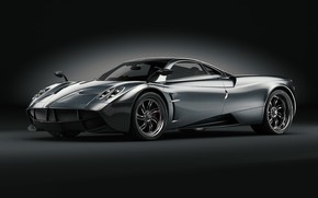 Picture Auto, Machine, Pagani, Car, Art, Render, Design, Supercar, Supercar, To huayr, Sports car, Silver, Sportcar, …