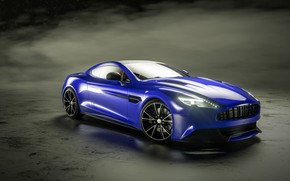 Picture Aston Martin, front view, Vanquish