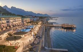 Picture sea, beach, stay, the hotel, Turkey, Kemer, Grand Park Kemer