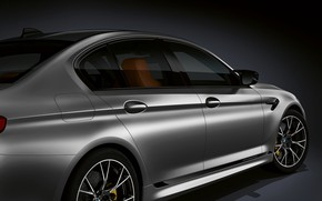 Picture BMW, sedan, body, fin, 2018, M5, V8, F90, M5 Competition, the lateral line
