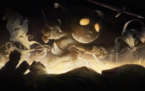 Picture mummy, Amumu, League Of Legends