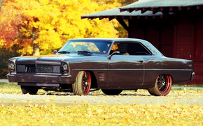 Picture Chevrolet, Coupe, Side, Nova, Tuning