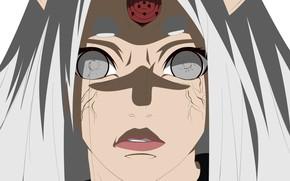 Picture woman, Naruto, Naruto, third eye