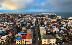 Picture Iceland, Reykjavik, cityscape