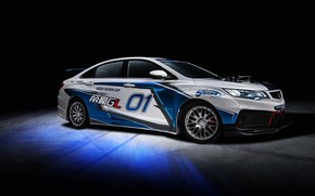 Picture racing car, 2018, Race Car, Geely, Emgrand GL
