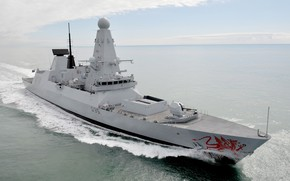 Picture HMS Dragon, Royal Navy, The destroyers type 45, Type 45 destroyer