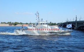 Picture boat, anti-sabotage, Сергей Перминин