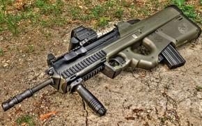 Picture weapons, Machine, Gun, weapon, Assault rifle, Assault Rifle, FN 2000, FN 2000
