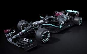 Picture formula 1, mercedes, the car, amg, 2020, w11