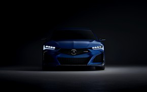 Picture front view, Acura, 2019, Type S Concept
