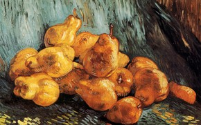Picture pear, Vincent van Gogh, Still Life with Pears